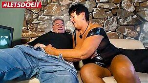 LETSDOEIT - Horny Mature German Couple Enjoys Hot Afternoon Sex Session
