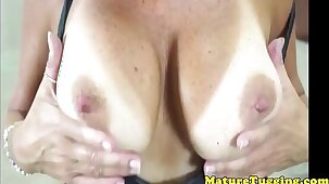 Mature wanking amateur cocklovers pov action