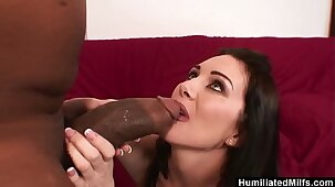 HumiliatedMilfs – She loves his Monster black Stick