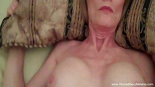 Sex Intruder Gets The Amateur Granny
