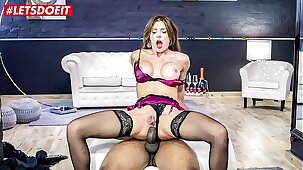 LETSDOEIT - Hot Russian MILF Kitana Lure Gets Anal Dominated By BBC