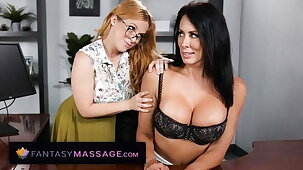 Reagan Foxx Accepts To Try Penny Pax's Massage Offer