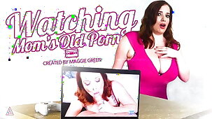 MODEL TIME Caught Watching Step-Mom's Old Porn! POV