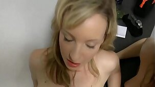 Hot mom teaches step daughter to fuck with her husband