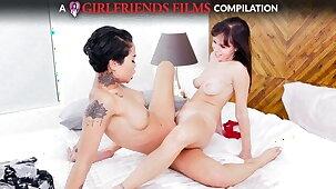 Scissoring Compilation Part 2 - GirlfriendsFilms