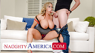 Naughty America - Amber Lynn Bach craves a Creampie