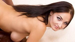 Nice hanging tits on an Ukrainian housewife